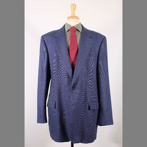 Jos. A. Bank 48L Blue Sport Coat G244
